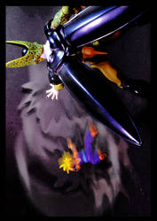 Cell vs Gohan Part 1 - p10 by SUnicron