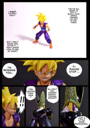Cell vs Gohan Part 2 - p11 by SUnicron