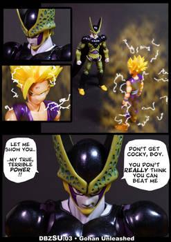 Cell vs Gohan Part 3 - p1