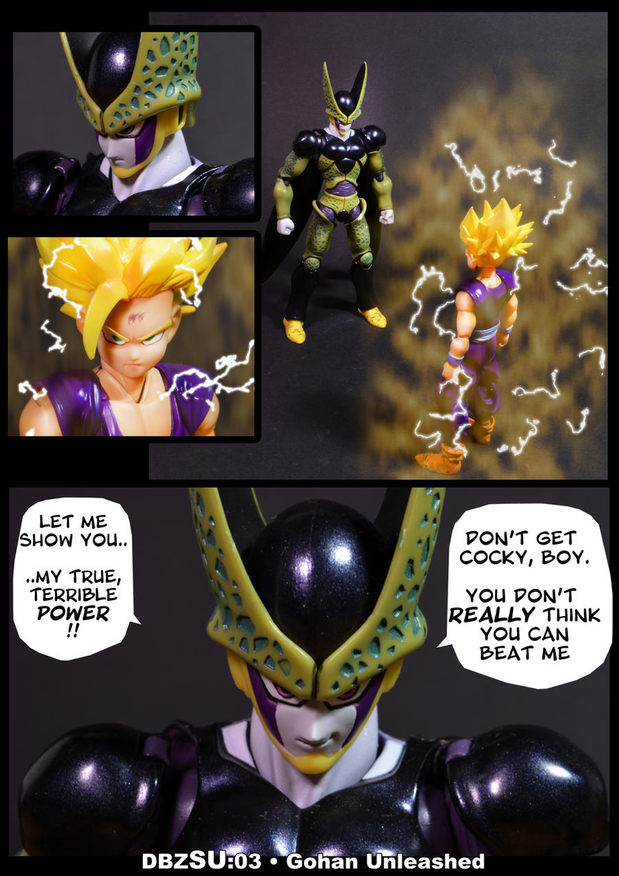 Cell vs Gohan Part 3 - p1 by SUnicron