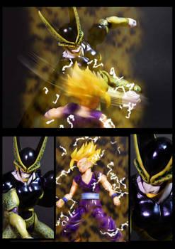 Cell vs Gohan Part 3 - p5
