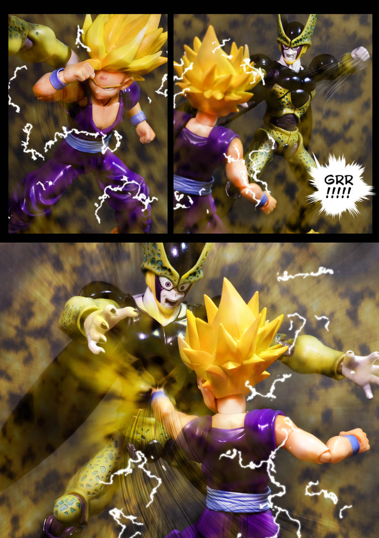 Cell vs Gohan Part 3 - p6 by SUnicron