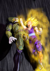 Cell vs Gohan Part 3 - p8 by SUnicron
