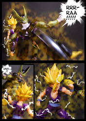 Cell vs Gohan Part 4 - p2 by SUnicron
