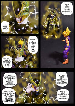 Cell vs Gohan Part 6 - p5