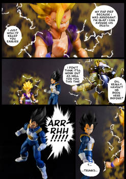Cell vs Gohan Part 6 - p7