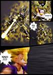 Cell vs Gohan Part 6 - p12