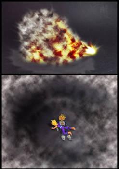 Cell vs Gohan Part 6 - p14