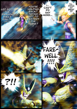 Cell vs Gohan Part 7 - p15
