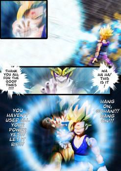 Cell vs Gohan Part 7 - p14