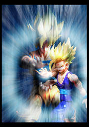Cell vs Gohan Part 7 - p11 by SUnicron