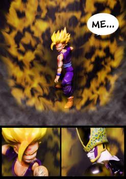 Cell vs Gohan Part 7 - p8