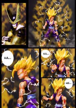 Cell vs Gohan Part 7 - p7