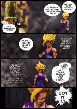 Cell vs Gohan Part 7 - p6
