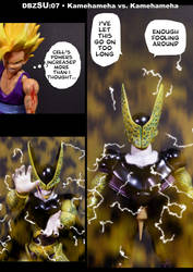 Cell vs. Gohan Part 7 - p1 by SUnicron