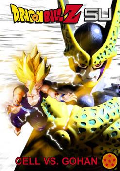 Cell vs Gohan Part 6 - Cover