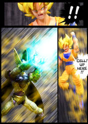 Cell vs Goku Part 2 - p12 by SUnicron