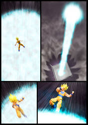 Cell vs Goku Part 2 - p13 by SUnicron