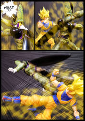 Cell vs Goku Part 2 - p14 by SUnicron