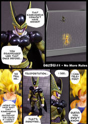 Cell vs Goku Part 3 - p1 by SUnicron