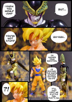 Cell vs Goku Part 3 - p2