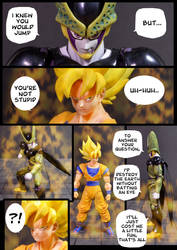 Cell vs Goku Part 3 - p2 by SUnicron