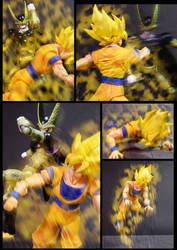 Cell vs Goku Part 3 - p4 by SUnicron