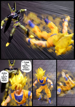 Cell vs Goku Part 3 - p5
