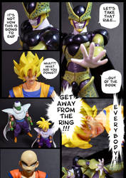 Cell vs Goku Part 3 - p10 by SUnicron