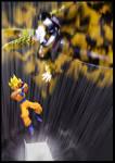 Cell vs Goku Part 3 - p11