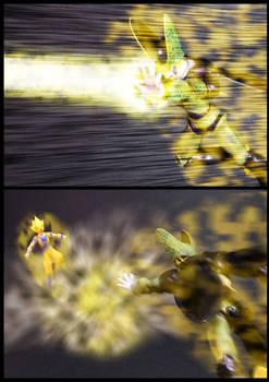 Cell vs Goku Part 4 - p2
