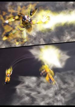 Cell vs Goku Part 4 - p3