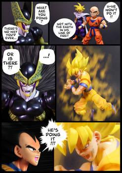 Cell vs Goku Part 4 - p7
