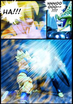 Cell vs Goku Part 4 - p9
