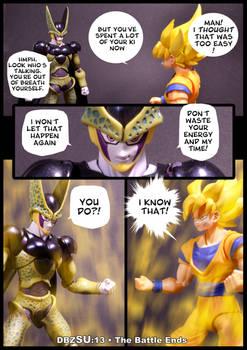 Cell vs Goku Part 5 - p1