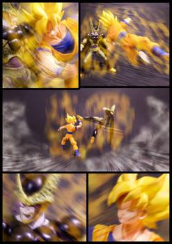 Cell vs Goku Part 5 - p2