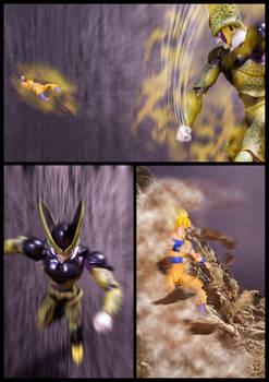 Cell vs Goku Part 5 - p3