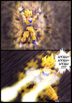 Cell vs Goku Part 5 - p4