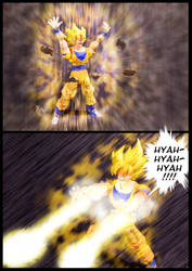Cell vs Goku Part 5 - p4 by SUnicron