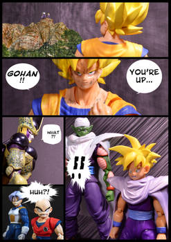 Cell vs Goku Part 6 - p4