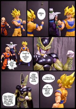 Cell vs Goku Part 6 - p10