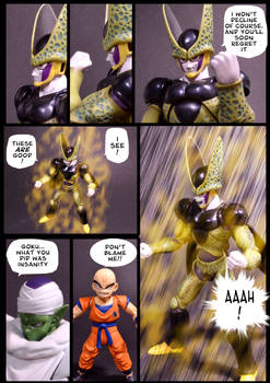 Cell vs Goku Part 6 - p11