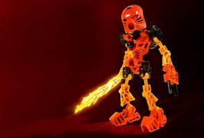 Tahu - Toa of Fire by SUnicron