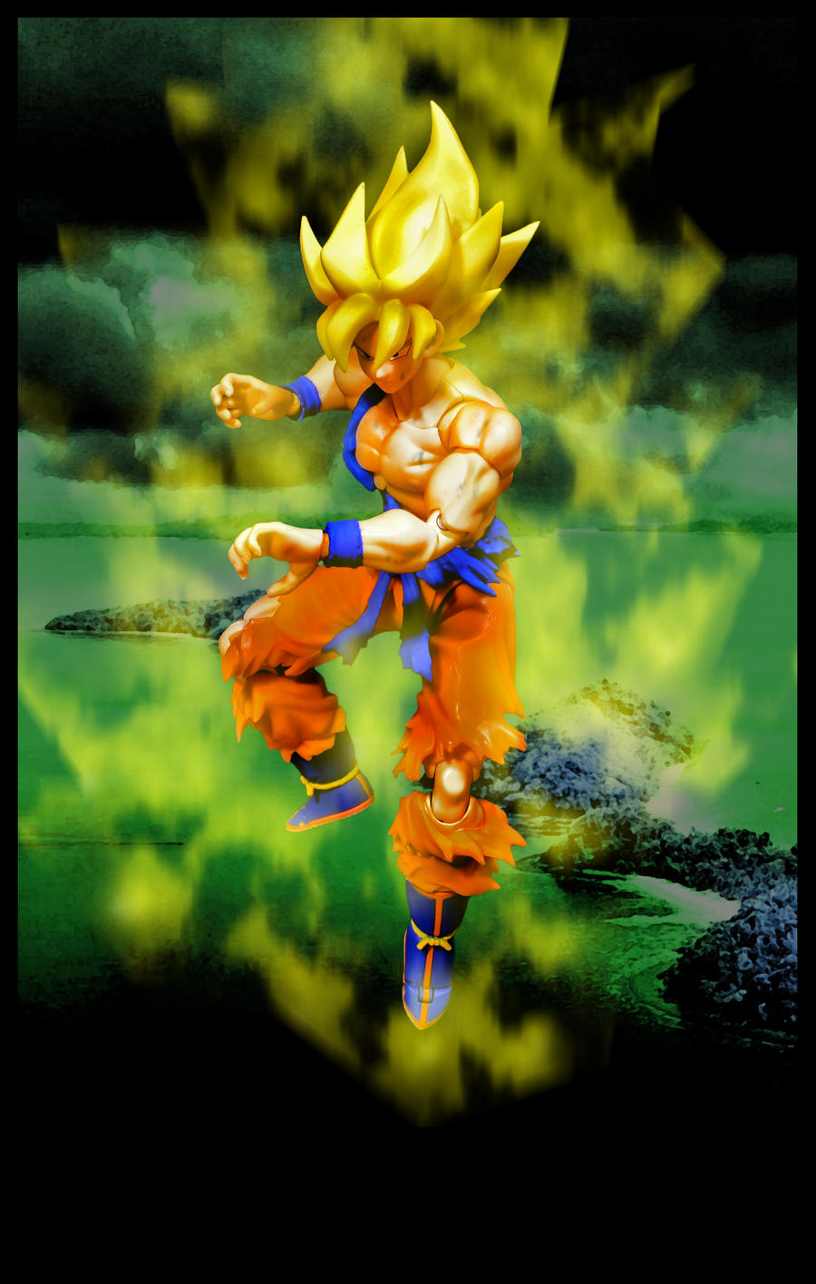 Goku - The Super Saiyan Warrior by SUnicron