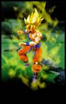 Goku - The Super Saiyan Warrior by SUnicron