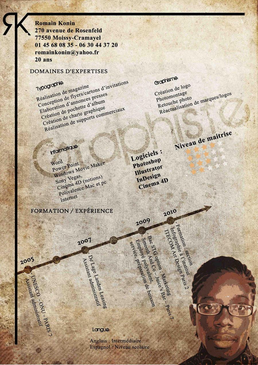 Mon CV by Koninr