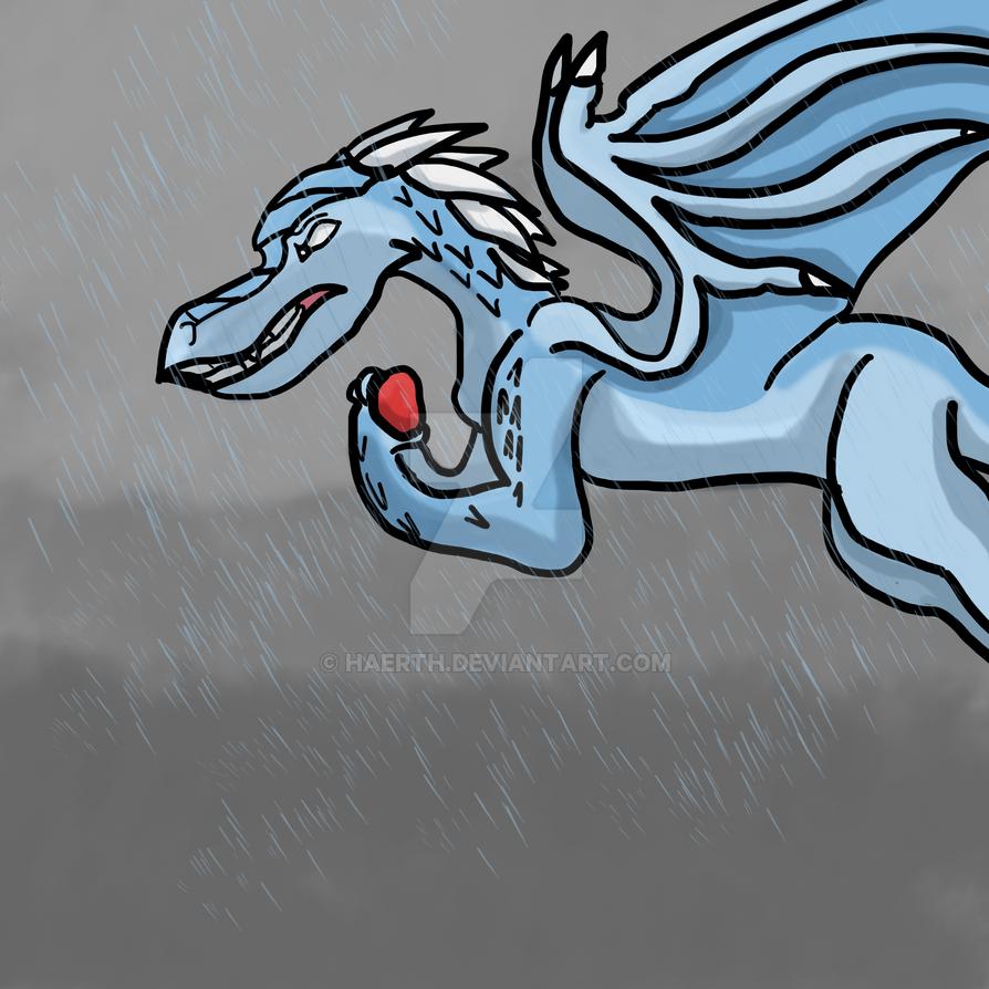 Drawlloween Day 19: Stormy Night by Haerth