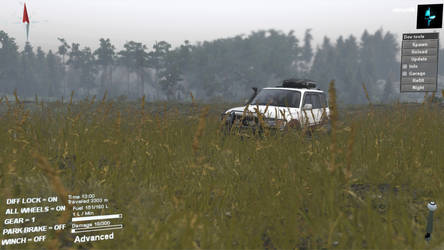 Here We See The Wild Land Cruiser by rikrun45