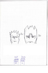 An Artists Interpretation Of bill and bob by rikrun45