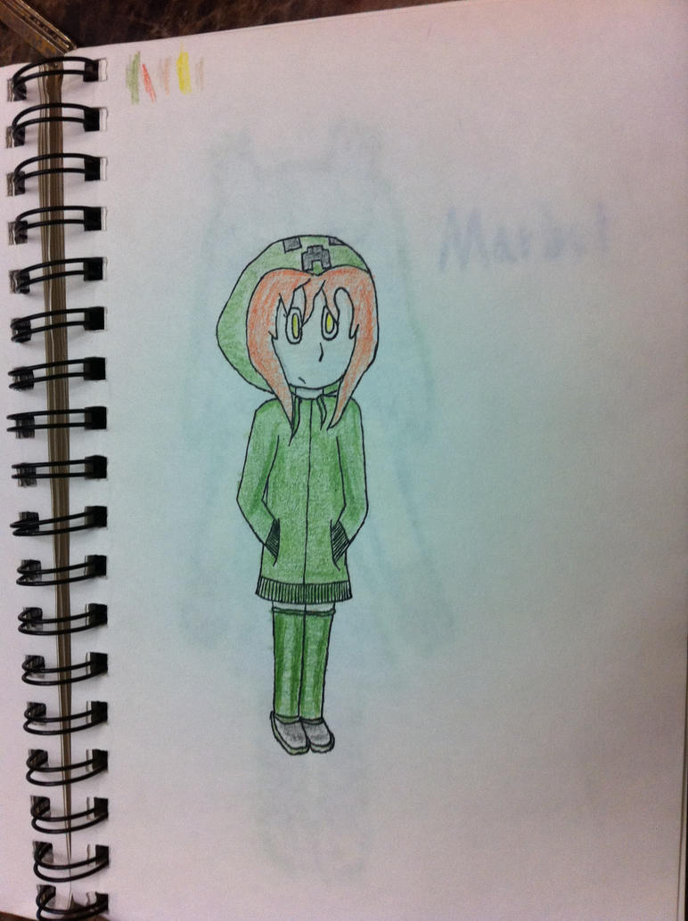 Creeper girl from a Minecraft mod by lunikmario